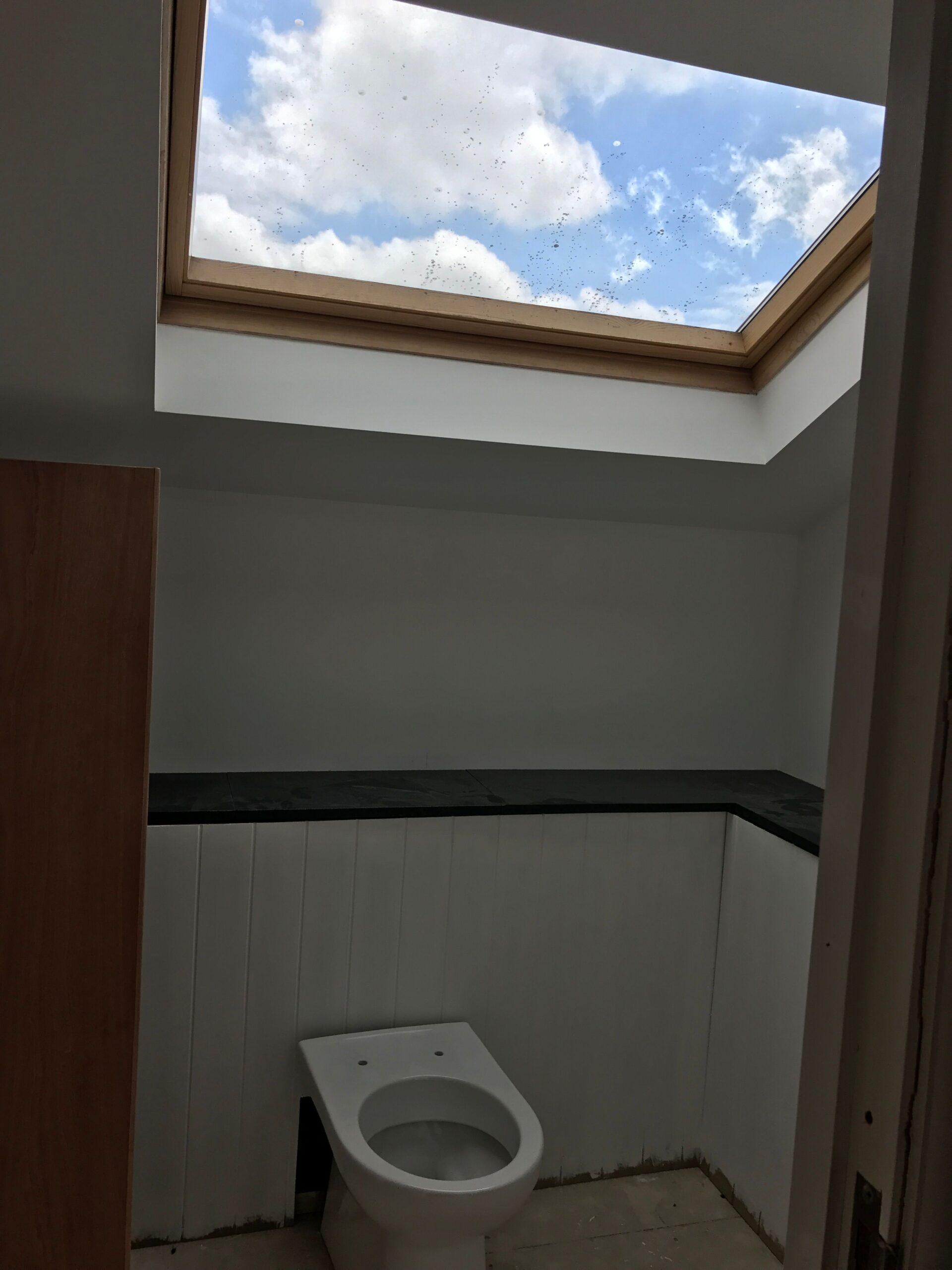 Dunkerry Road Top Floor Toilet Before