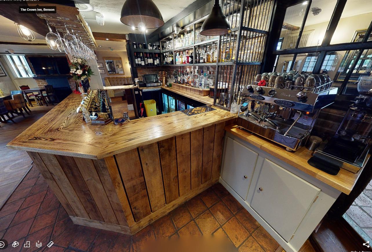 1 crown inn bar side 3