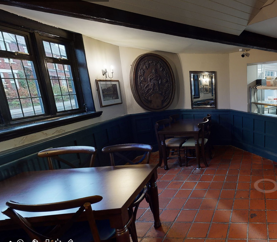 1 crown inn dining kitchen 3